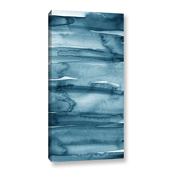 ArtWall Linda Woods's Indigo water, Gallery Wrapped Canvas