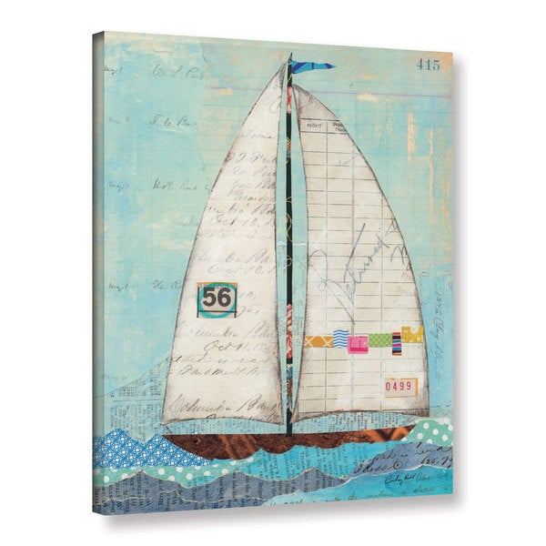 ArtWall Courtney Prahl's Regatta III, Gallery Wrapped Canvas