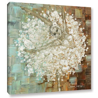 ArtWall Susanna Shaposhnikova's Ballerina 2, Gallery Wrapped Canvas