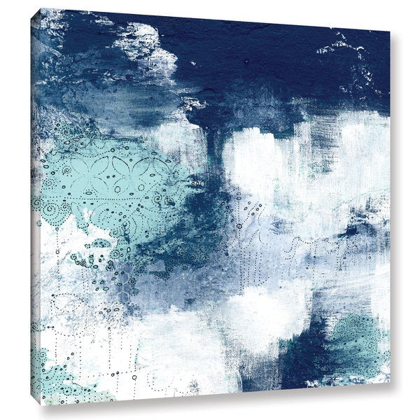 ArtWall Sarah Ogren's Navy II, Gallery Wrapped Canvas