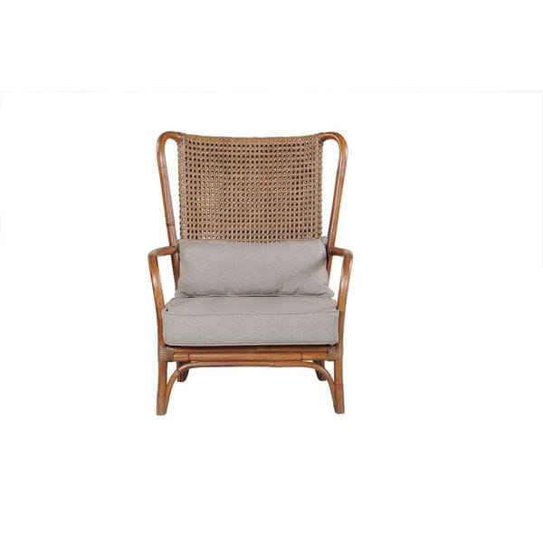 Connor Club Chair Brown Frame