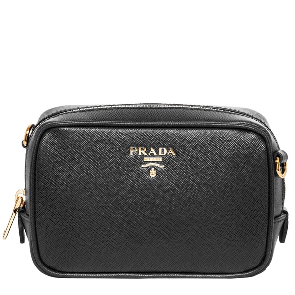 Prada Saffiano Clutch Crossbody Bag