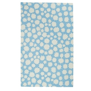 Hable Construction Heavenly Rectangle Loop Hooked Rug (7'x 9')