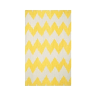 Genevieve Gorder Insignia Rectangle Flat Woven Rug (7'x 9')