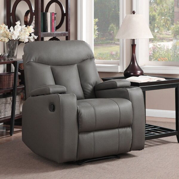 ProLounger Tuff Stuff Taupe Synthetic Leather Wall Hugger Recliner