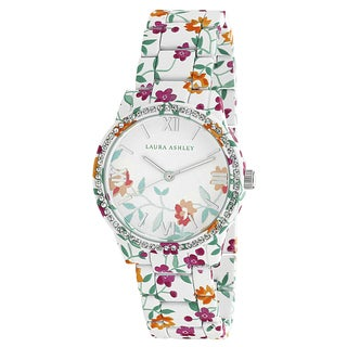 Laura Ashley Ainsley Ditsy Pattern Printed Watch