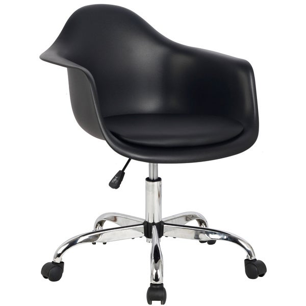 Hodedah Rolling Chair With Seat Cushion 18078952