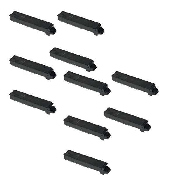 10PK Compatible TK897K Toner Cartridges For Kyocera FS C8520MFP C8525MFP TaskAlfa 205c 255 255c ( Pack of 10)
