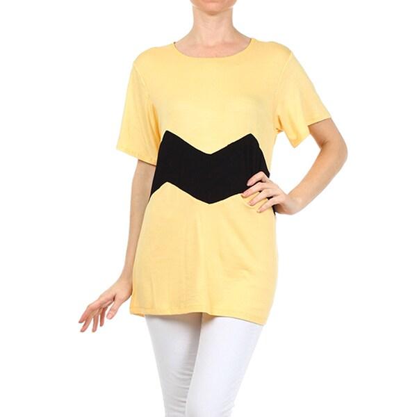 Moa Women's Chevron Stripe Tunic