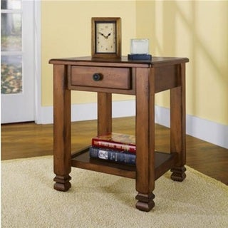 Altra Summit Mountain Tuscany Oak Accent Table