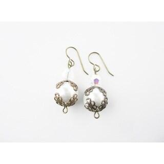 Royal Vintage Pearl Earrings