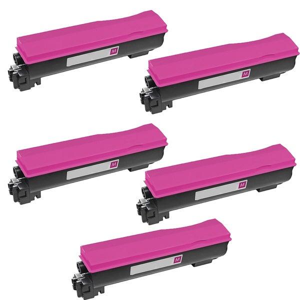 5PK Compatible TK562M Toner Cartridge For Kyocera FS C5300 C5300DN C5350 C5350DN ( Pack of 5 )