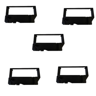 5PK Compatible RC200 Black/Red Ribbons For Star SP200 ST200 ( Pack of 5 )