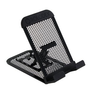Rolodex Black Mesh Collection Mobile Device and Tablet Stand