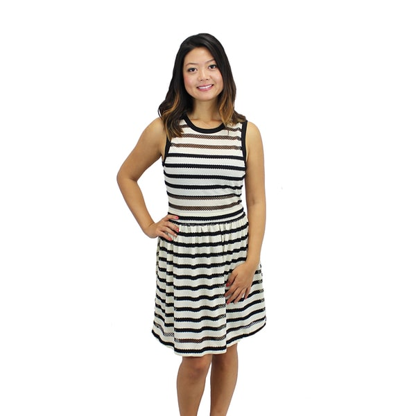 Women's Breton Stripe Knit Dress