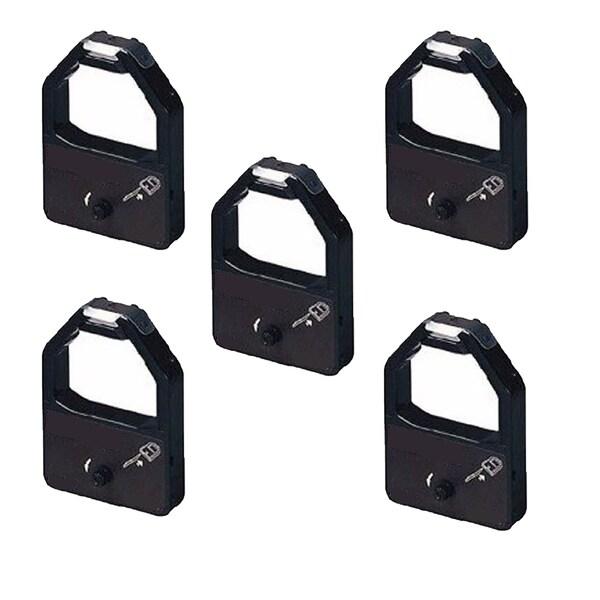 5PK Compatible KX-P155 Ribbons For Panasonic KX-P1524 1624 2624 3624 ( Pack of 5 )