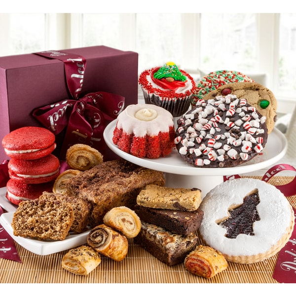 Dulcets Christmas Assorted Holiday Celebration Gift Basket