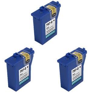 3PK 797-0 Compatible Ink Cartridge For Pitney Bowes Mailstation K700 K7M0 Mailstation2 ( Pack of 3 )