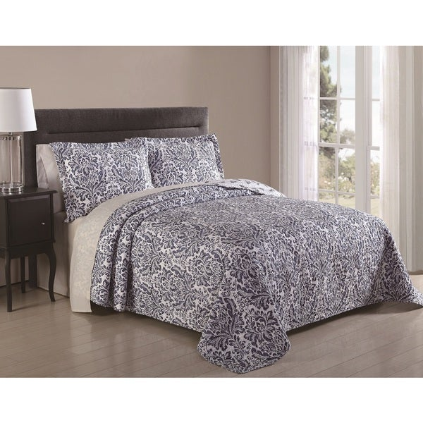Mirabello Medallion 3-piece Quilt Set