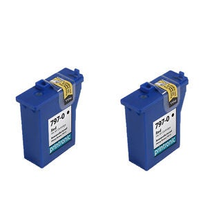 2PK 797-0 Compatible Ink Cartridge For Pitney Bowes Mailstation K700 K7M0 Mailstation2 ( Pack of 2 )