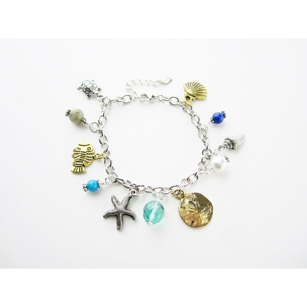 On the Beach Charm Bracelet