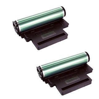 2PK Compatible 330-3017 Drum Cartridges For Dell 1230 1230C 1235 1235CN ( Pack of 2 )
