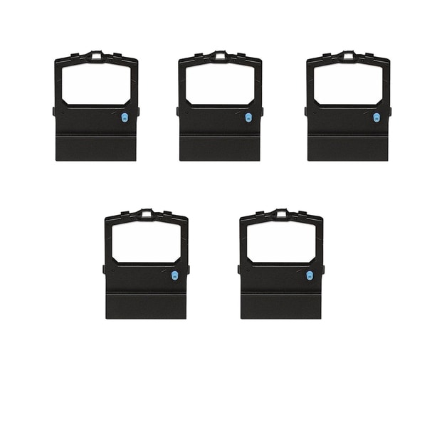 5PK Compatible 52104001 Ribbons For OKI ML-180 190 320 380 390 Series ( Pack of 5 )