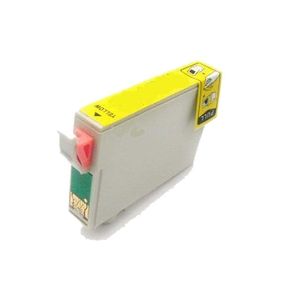 1 Pack Compatible T087420 Yellow Ink Cartridge for Epson Stylus Photo R1900 (Pack of 1)