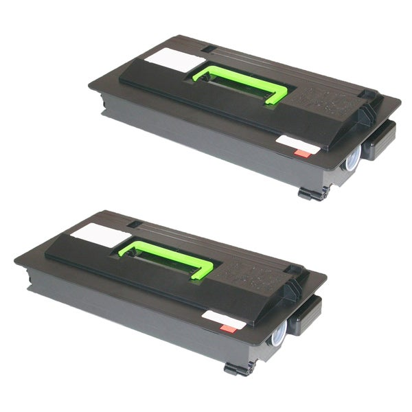 2PK Compatible TK712 Toner Cartridge for Kyocera FS 9130 9130DN 9530 9530DN (Pack of 2)