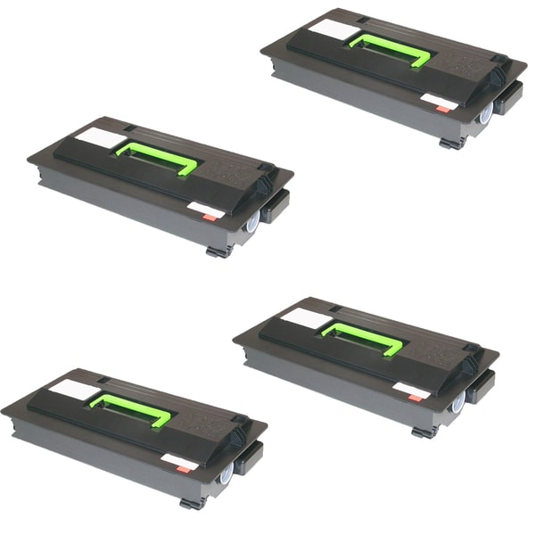 4PK Compatible TK712 Toner Cartridge for Kyocera FS 9130 9130DN 9530 9530DN (Pack of 4)