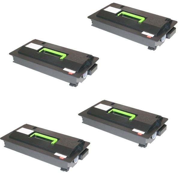 4PK Compatible TK712 Toner Cartridge for Kyocera FS 9130 9130DN 9530 9530DN (Pack of 4)