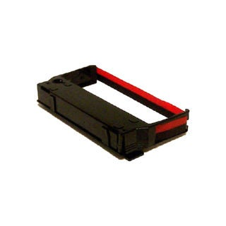 1PK Compatible ERC23 Black / Red Ribbons for Epson ERC-23 ERC-30 IBM 4651 4655 (Pack of 1)
