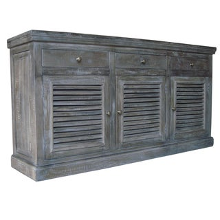 Shutter Large French Gray Sideboard/ Buffet