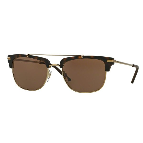 Burberry Men's BE4202Q 35385W Tortoise Plastic Square Sunglasses
