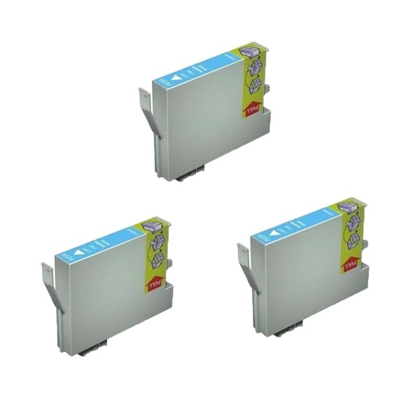 3 Pack Compatible T059520 Light Cyan Ink Cartridge for Epson Stylus Photo R2400 (Pack of 3)