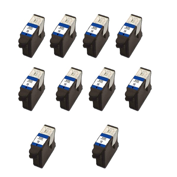 10 Pack Kodak 1215581 #10 Black Compatible Ink Cartridge for Kodak Easyshare 5100 5300 (Pack of 10)