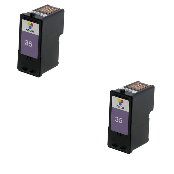 2 Pack Lexmark 18C0035 #35 Compatible Ink Cartridge for Lexmark Z810 Z812 (Pack of 2)