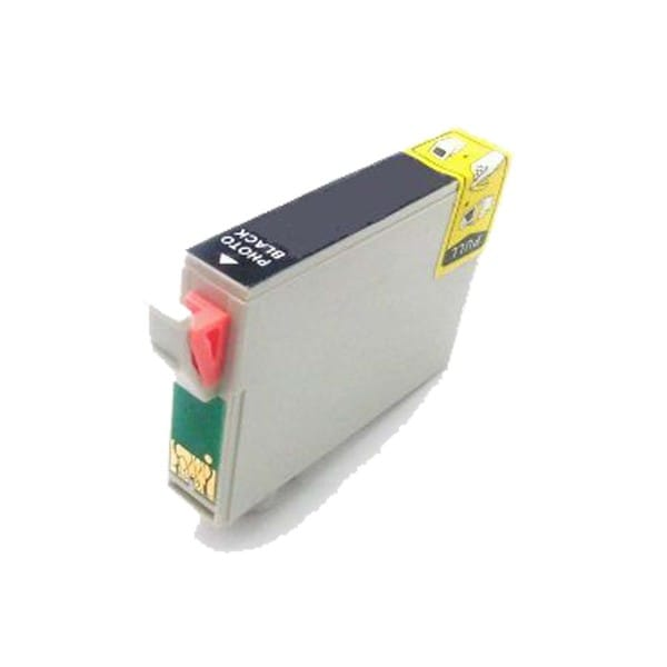 1 Pack Compatible T087120 Photo Black Ink Cartridge for Epson Stylus Photo R1900 (Pack of 1)