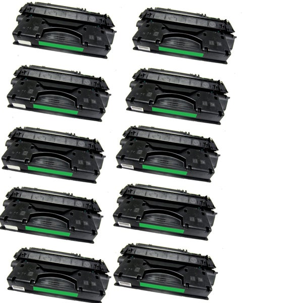 10PK Compatible Q7553X Toner Cartridges for HP LaserJet P2014 P2015 P2015D P2015DN P2015N P2015X M2727NF MFP (Pack of 10)