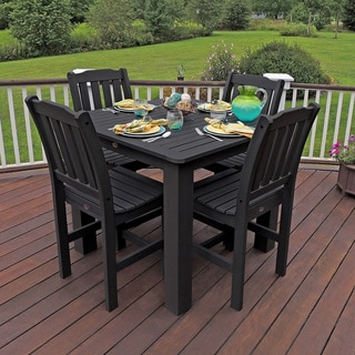 PHAT TOMMY Lehigh Tall Square Dining Set