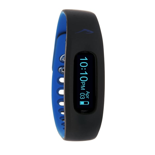 Everlast Wireless Fitness Activity Waterproof Tracker W/LED Display / Sleep Blue TR2 Monitor Watch (As Is Item)