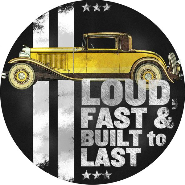 "Marmont Hill - ""Loud, Fast & Built to Last"" Painting Print on Canvas"