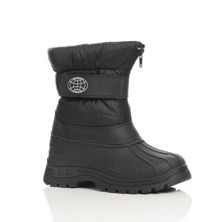 Unsensored Kid's Unisex Hook-and-Loop Snow Boot