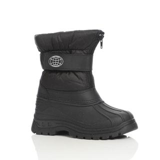 Unsensored Kid's Unisex Hook-and-Loop Snow Boot