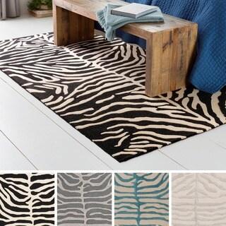Artistic Weavers Hand-Tufted Belt Wool Rug (4' x 6')