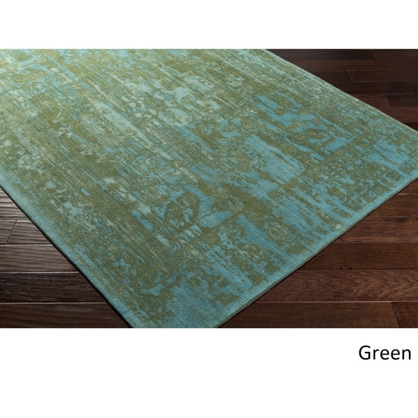 Flatweave Blueway Cotton/ Polyester Rug (8' X 10