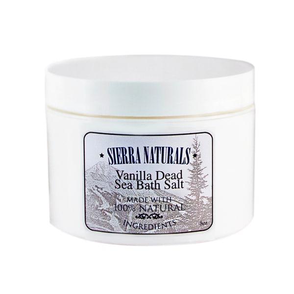 Sierra Naturals Handmade Organic Scented Vanilla Dead Sea Bath Salts