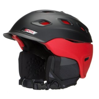 Smith Optics Vantage Unisex Adult Snow Helmet - Medium (Matte Black/Red)
