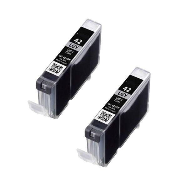 2PK CLI-42LGY Compatible Ink Cartridge For Canon PIXMA Pro 100 ( Pack of 2 )