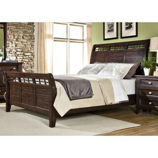 Hayden Solid Pine Sleigh Bed